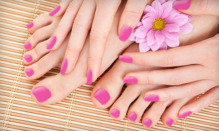 Aabsolute Massage & Skin Care - Longwood Maine: $35 for a Deluxe Spa Mani-Pedi at Aabsolute Massage & Skin Care in Longwood ($70 Value)