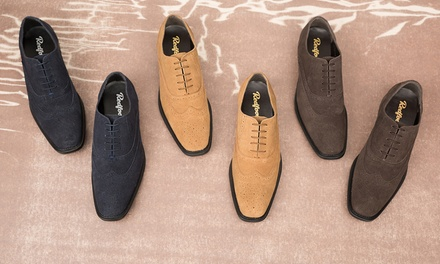 Redfoot Suede Brogue Shoes