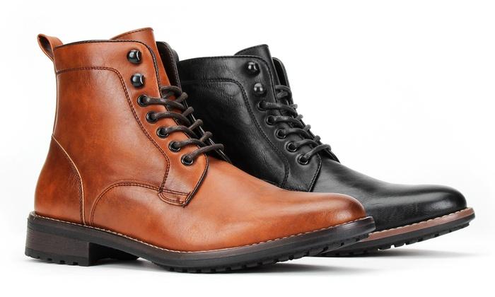 c7d3a449d21 Up To 70% Off on Men's Plain Combat Boots | Groupon Goods