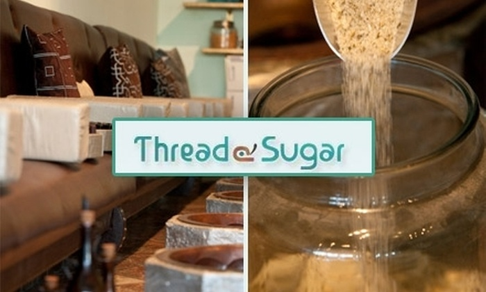 Thread & Sugar - Hoover: $50 for $100 Worth of Hair Services, Skincare, Hair Removal, and Henna Tattooing at Thread & Sugar