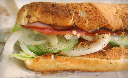 $20 Groupon to Rubino's Italian Subs and Sports Bar - Rubino's Italian Subs and Sports Bar in Webster