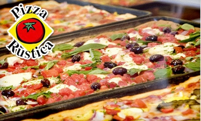Pizza Rustica - Los Angeles: $7 for $15 Worth of Pizza and More at Pizza Rustica