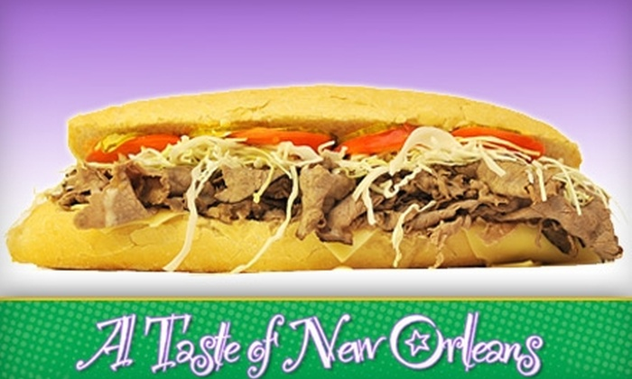 A Taste of New Orleans - Fairhope: $6 for $12 Worth of Southern Fare at A Taste of New Orleans in Fairhope