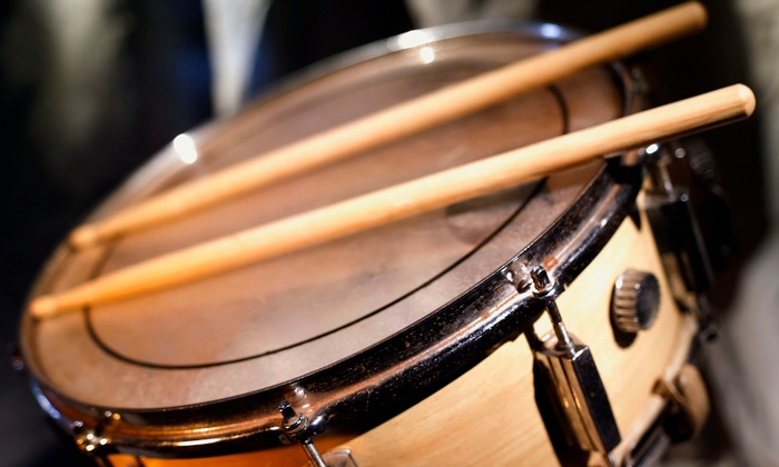 The Dallas Drum School - Dallas: $130 for Four 60-Minute Lessons at The Dallas Drum School ($300 Value)