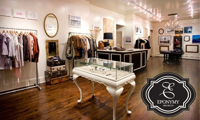 Eponymy - Park Slope: $35 for $75 Worth of Women's Boutique Clothing and Jewelry at Eponymy in Brooklyn