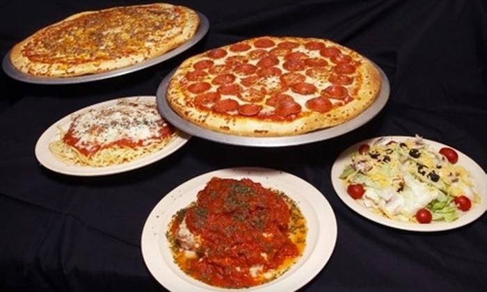 Michaelangelo's Pizza - Nashville-Davidson metropolitan government (balance): $12 for $25 Worth of Gourmet Pizza, Wings, and More at Michaelangelo's Pizza