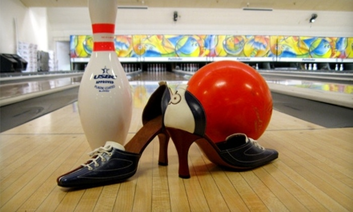 Albany Bowl - Albany: $14 for Four Games of Bowling and Two Shoe Rentals at Albany Bowl (Up to $28 Value)