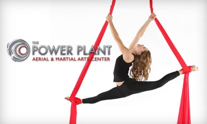The Power Plant Aerial & Martial Arts Center - Manhattan Beach: $20 for Two Drop-In Aerial Fitness Classes at The Power Plant Aerial & Martial Arts Center in Manhattan Beach ($50 Value)
