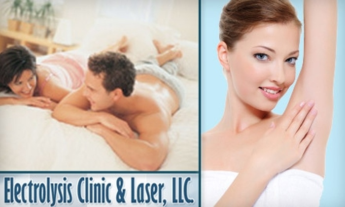 Electrolysis Clinic & Laser - Shorewood Hills: $150 for Six Laser Hair-Removal Treatments at Electrolysis Clinic & Laser (Up to $945 Value)