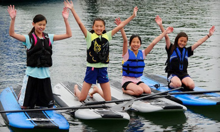 SUP Shack - Santa Cruz Harbor: Two-Hour Standup Paddleboard-Rental or Beginner Lesson at SUP Shack