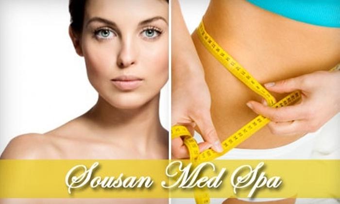 Sousan Med Spa & Skin Care - Afton Oaks/ River Oaks: $40 for an Infrared Body Wrap or a Signature Facial at Sousan Med Spa & Skin Care