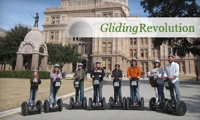Gliding Revolution - South River City: $25 for $50 Toward Bike, Kayak, or Segway Tour or Rental from Gliding Revolution
