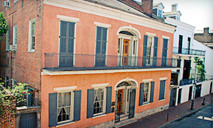 Hermann-Grima/Gallier Historic Houses - New Orleans: Historic-House Tour for Two from Hermann-Grima/Gallier Historic Houses (Half Off). Two Options Available.