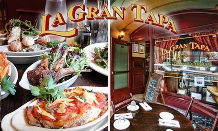La Gran Tapa - Core-Columbia: $15 for $35 Worth of Tasty Tapas and Drinks at La Gran Tapa