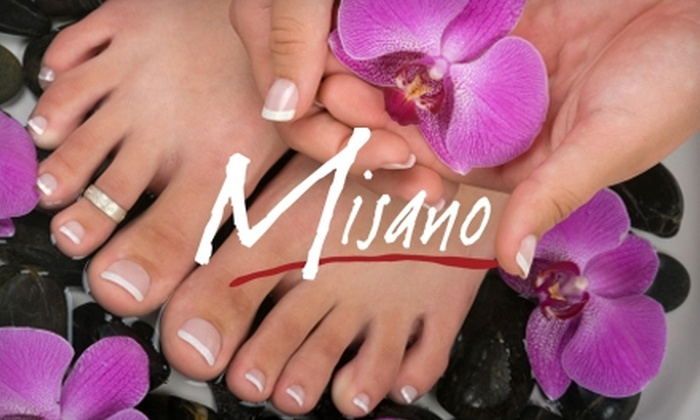 Misano Salon and Spa - Arlington Heights: $35 for a Chocolate Lover's Mani-Pedi at Misano Salon and Spa in Arlington Heights