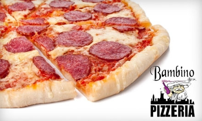 Bambino Brothers Pizza - Piedmont Triad: $9 for a Two-Topping 19-Inch Pizza at Bambino Brothers Pizza (Up to $19 Value)