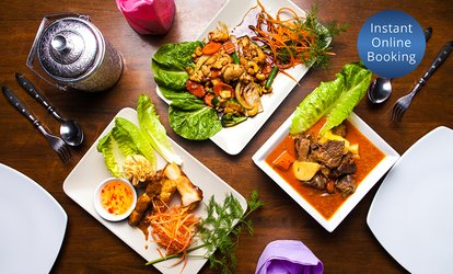 Two-Course Thai Meal for Two