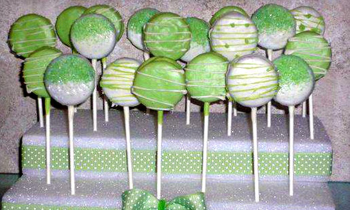 Sweet As Candy - Park East: One Dozen Cake or Oreo Pops or a Candy Buffet from Sweet As Candy