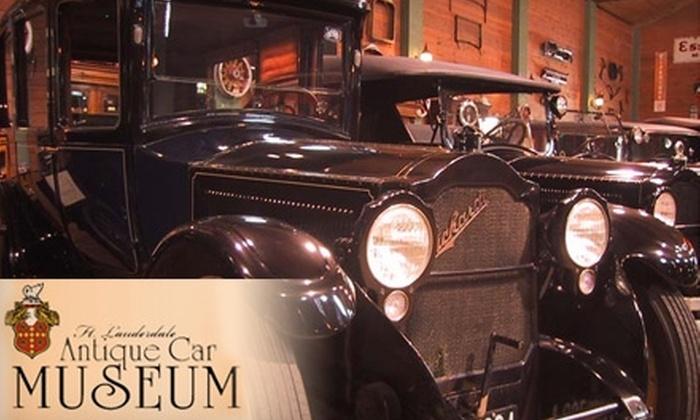 Ft. Lauderdale Antique Car Museum - Poinciana Park: $8 for Two Adult Admissions to the Ft. Lauderdale Antique Car Museum ($16 Value)