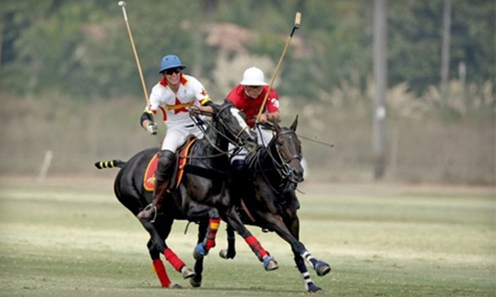 San Diego Polo Club - Rancho Santa Fe: $25 for Two VIP Tickets ($50 Value) or $12 for One Carload's Tailgating and Match Entry ($25 Value) at the San Diego Polo Club in Rancho Santa Fe