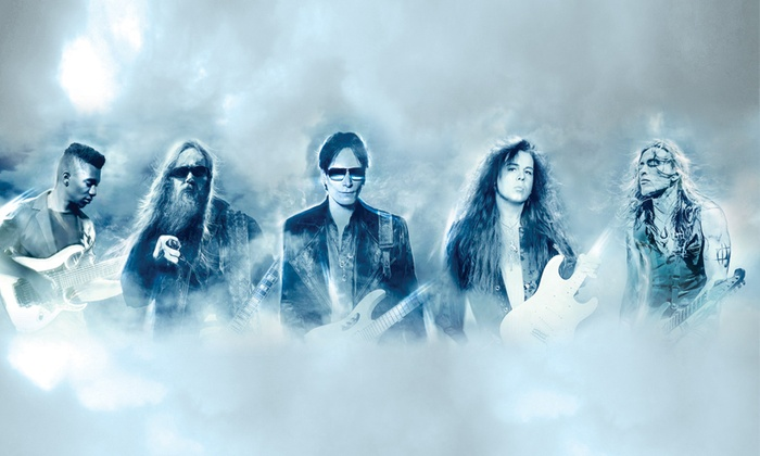 Generation Axe - Paramount Theatre: Steve Vai, Yngwie Malmsteen, Zakk Wylde, and More on April 13 at 8 p.m.
