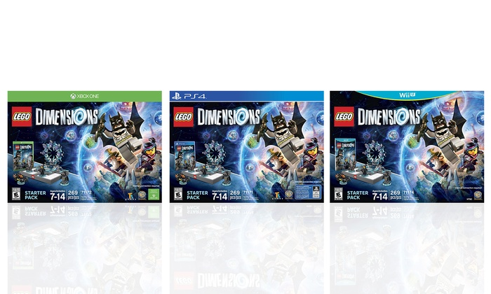 LEGO Dimensions Starter Pack for PS3, PS4, Wii U, or Xbox One