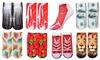 Set composto da 7 paia di calze con stampa 3D