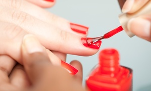 Glam Lady: Manicure with Gel Overlays and Hand Massage from R209 at Glam Lady (Up to 64% Off)