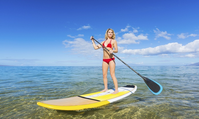Marshgrass Adventures - Bluffton: Stand-Up Paddleboard or Kayak Tour for 2 or 4 from Marshgrass Adventures (Up to 51% Off). 5 Options Available.