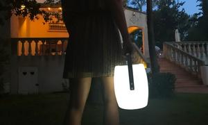 Baladeuse LED enceinte Bluetooth