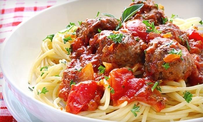Teddy Spaghettis - Muskegon: $6 for $12 Worth of Italian Fare and Drinks at Teddy Spaghettis in Muskegon