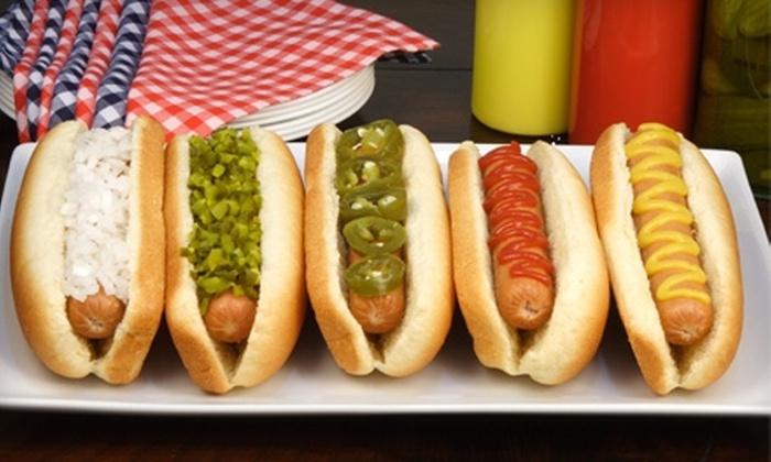 Happy House Hot Dogs - West Chicago: $6 for $12 Worth of American Fare and Drinks at Happy House Hot Dogs