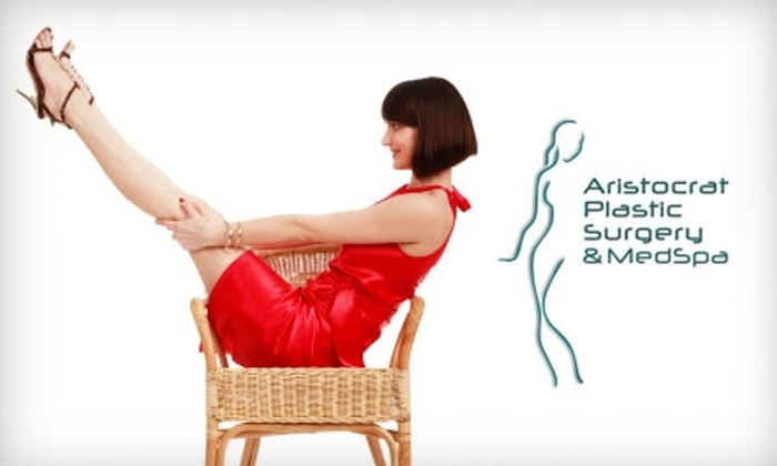 Aristocrat Plastic Surgery - Multiple Locations: $99 for Sclerotherapy or Laser Treatment for Leg Veins at Aristocrat Plastic Surgery (Up to $796 Value)