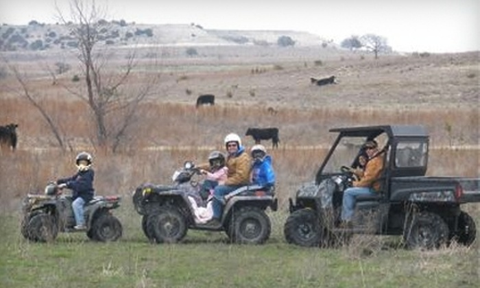 Rough Creek Lodge and Resort - Glen Rose: $45 for 90-Minute Guided ATV Excursion at Rough Creek Lodge and Resort in Glen Rose ($90 Value)