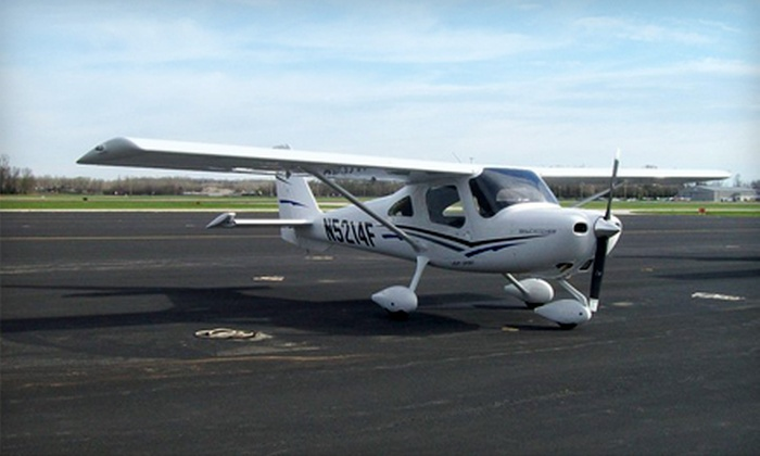 Air Associates of Missouri - Chesterfield: $143 for an Intro Package with Ground School and a One-Hour Flight at Air Associates of Missouri in Chesterfield ($286.75 Value)