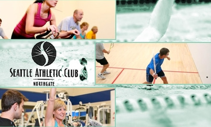 Seattle Athletic Club Northgate - Maple Leaf: $49 for a One-Month Membership Plus an Hour-Long Personal-Training Session at Seattle Athletic Club Northgate ($195 Value)