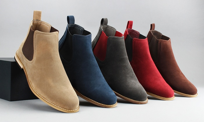 85a93612a43 Up To 67% Off on Gino Pheroni Men's Chelsea Boots | Groupon Goods