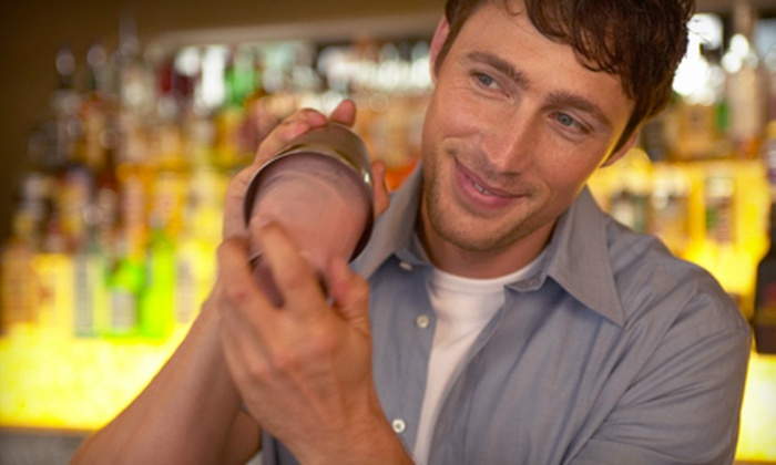 123 Bartending - Colonial Town Center: One-Week Bartending School for One, Two, or Four at 123 Bartending (Up to 68% Off)