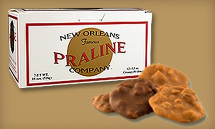 New Orleans Famous Praline Company: $14 for a Box of 12 Creamy Pralines from New Orleans Famous Praline Company ($29.99 Value)