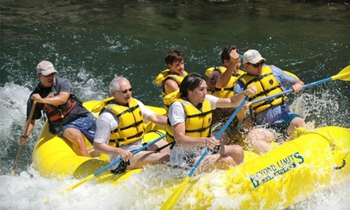 Beyond Limits Adventures - Coloma: $55 for a Half-Day Rafting Trip from Beyond Limits Adventures in Lotus (Up to $115 Value)