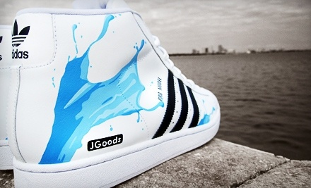 JGoods: 1-Hour Custom Sneaker-Painting Class on Wed., May 25 at 7:30PM - JGoods  in Minneapolis