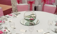 50 Guest Wedding Deco from Mrs Bouquets Florists, Dewsbury (Up to 68% Off)