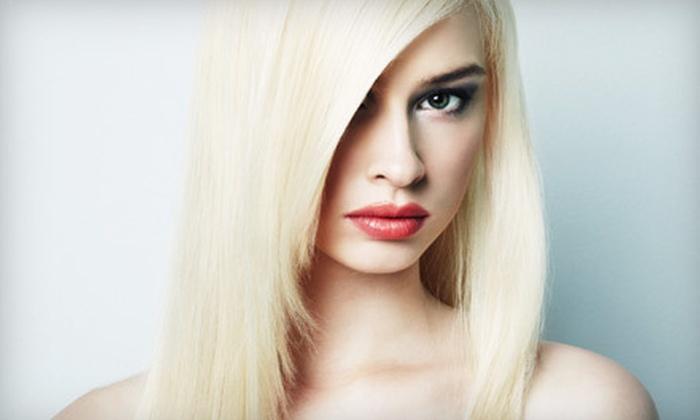 Annie Salon and Spa - Oakton: $129 for a Brazilian Keratin Hair-Straightening Treatment at Annie Salon and Spa in Oakton ($350 Value)