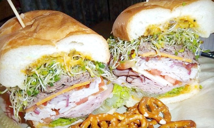 Smacky's on Broadway - Spokane Valley: $5 for $10 Worth of Gourmet Sandwiches at Smacky's on Broadway