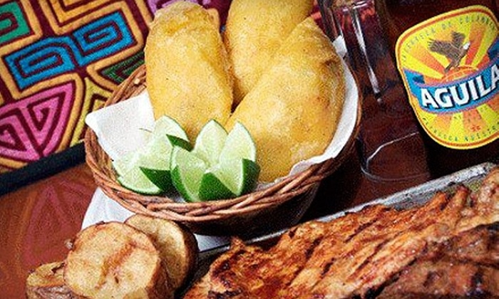 Las Tablas Colombian Steakhouse - Multiple Locations: $15 for $30 Worth of Authentic Colombian Fare and Drinks at Las Tablas Colombian Steakhouse