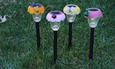 set of 20 solar garden lights groupon goods
