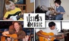 Vision Music Live - Atlanta: $25 for an Hour-Long Guitar, Drums, or Piano Lesson with Vision Music Live ($52.50 Value)