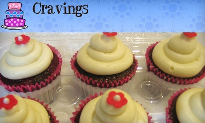Cravings - Greeningdon: $10 for a Dozen Cupcakes at Cravings ($23 Value)