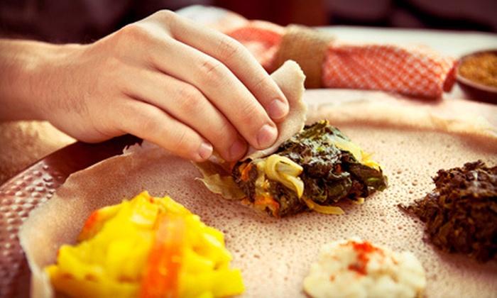 Ethiopia Restaurant - Elmwood: Ethiopian Meal for Two or Four at Ethiopia Restaurant in Berkley (Up to 57% Off)