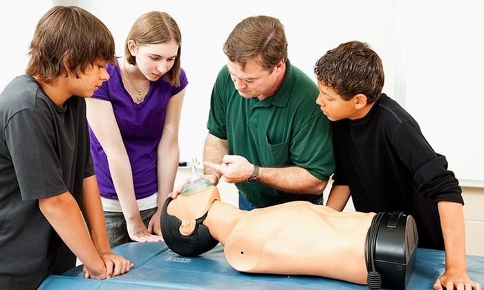 Safe T. Company - Northwest Dallas: Heartsaver CPR/AED Class with Optional First-Aid Class for One or Two at Safe T. Company (Up to 53% Off)